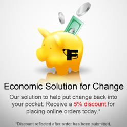 5% Discount on Online Order