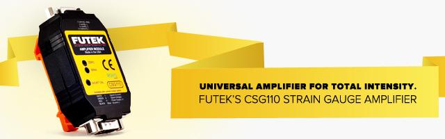 FUTEK's CSG110 Strain Gauge Amplifier
