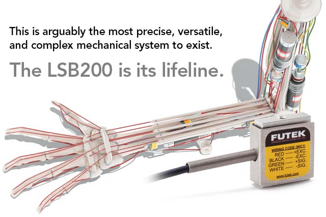 This is arguably the most precise, versatile, and complex mechanical system to exist. The LSB200 is its lifeline.