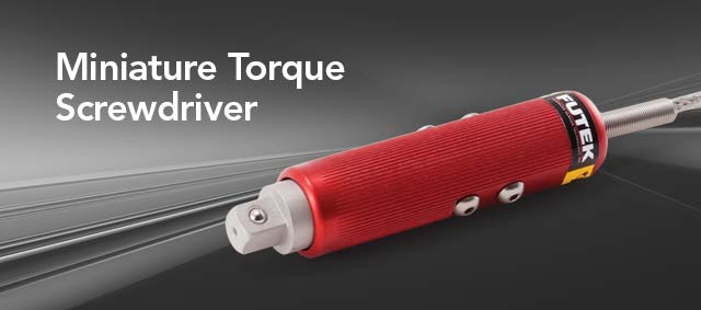 Miniature Torque Screwdriver