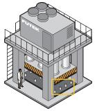 Hydraulic/Pneumatic Press Force