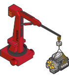 Portable Crane Weighing