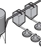 Agricultural Poultry Feeder